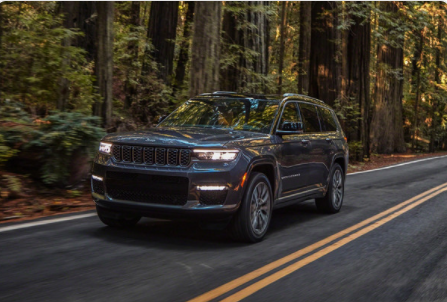 2021 Grand Cherokee L safety
