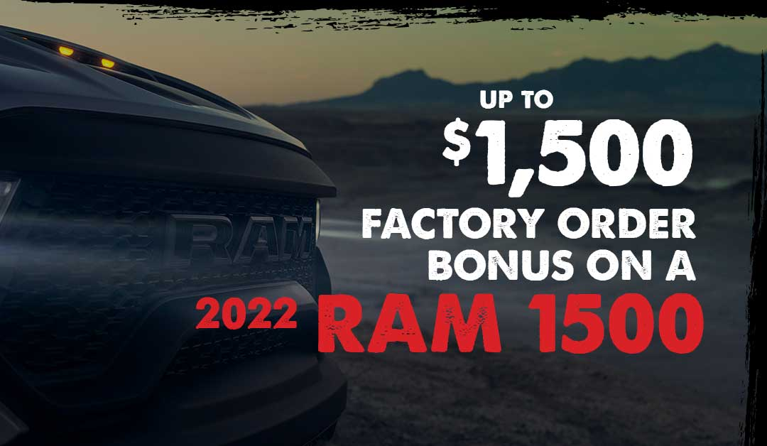 Factory Order Bonus