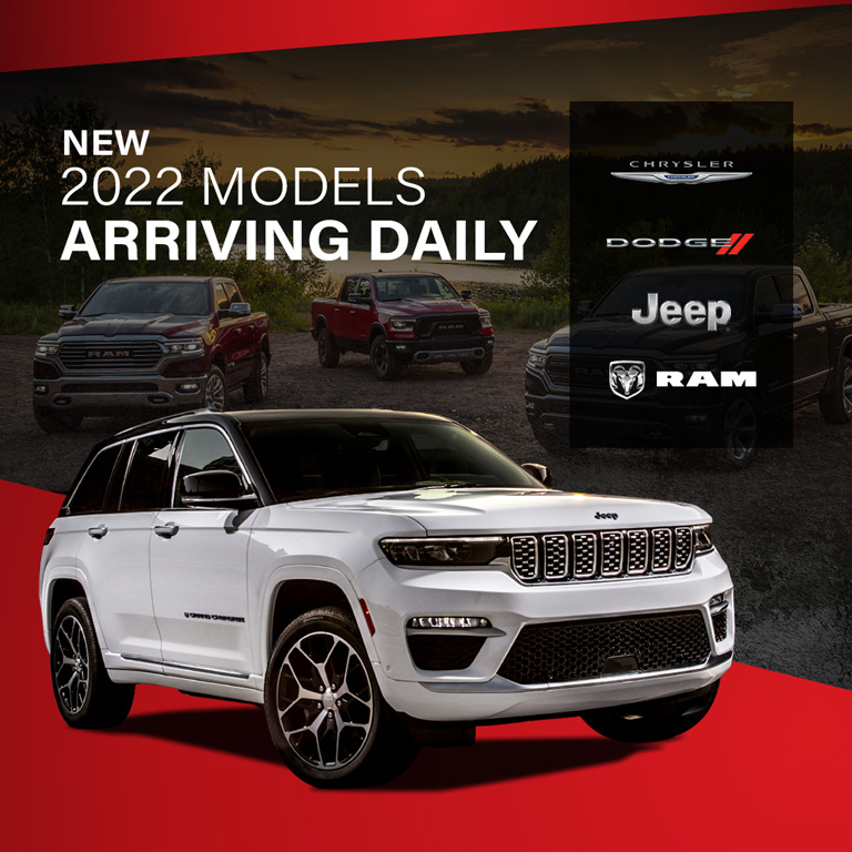 2022 Models Arriving Daily