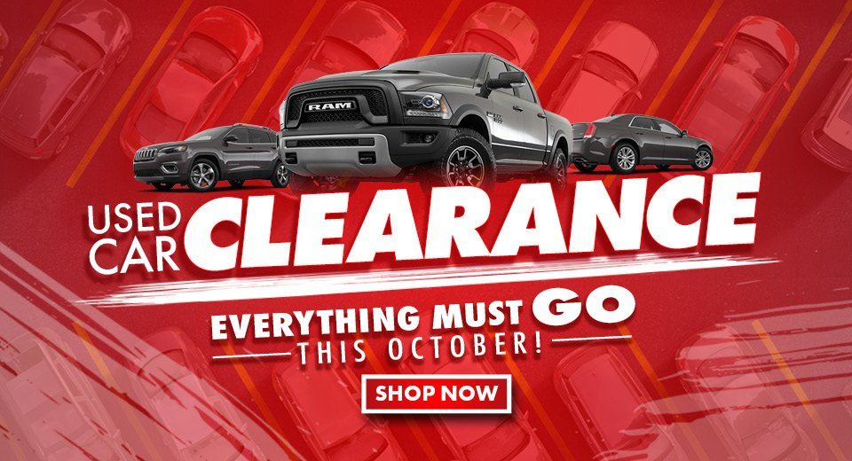 Used Car Clearance | Everything Must Go