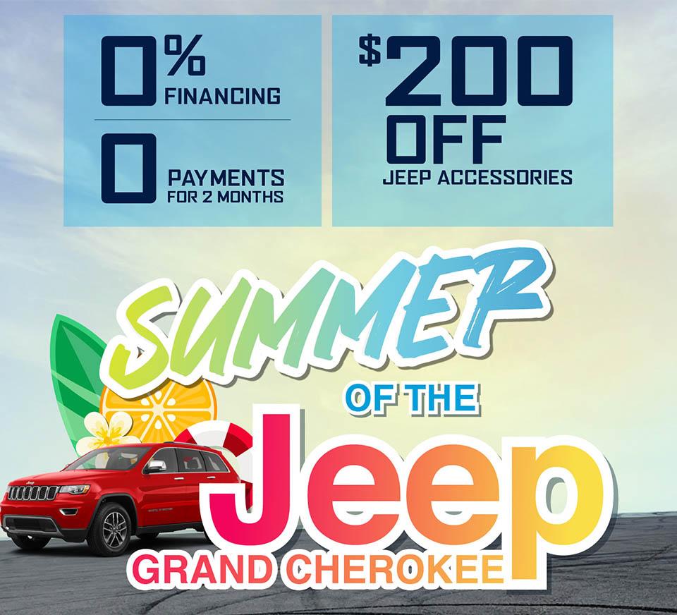 Summer of Jeep Grand Cherokee