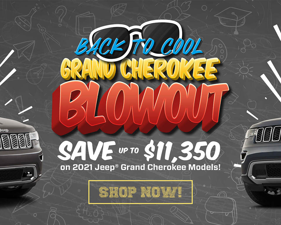 Back To Cool - Grand Cherokee Blowout