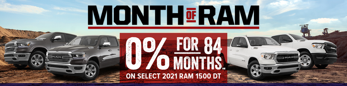 RAM Discount Offers at Moncton Chrysler Jeep Dodge in Moncton