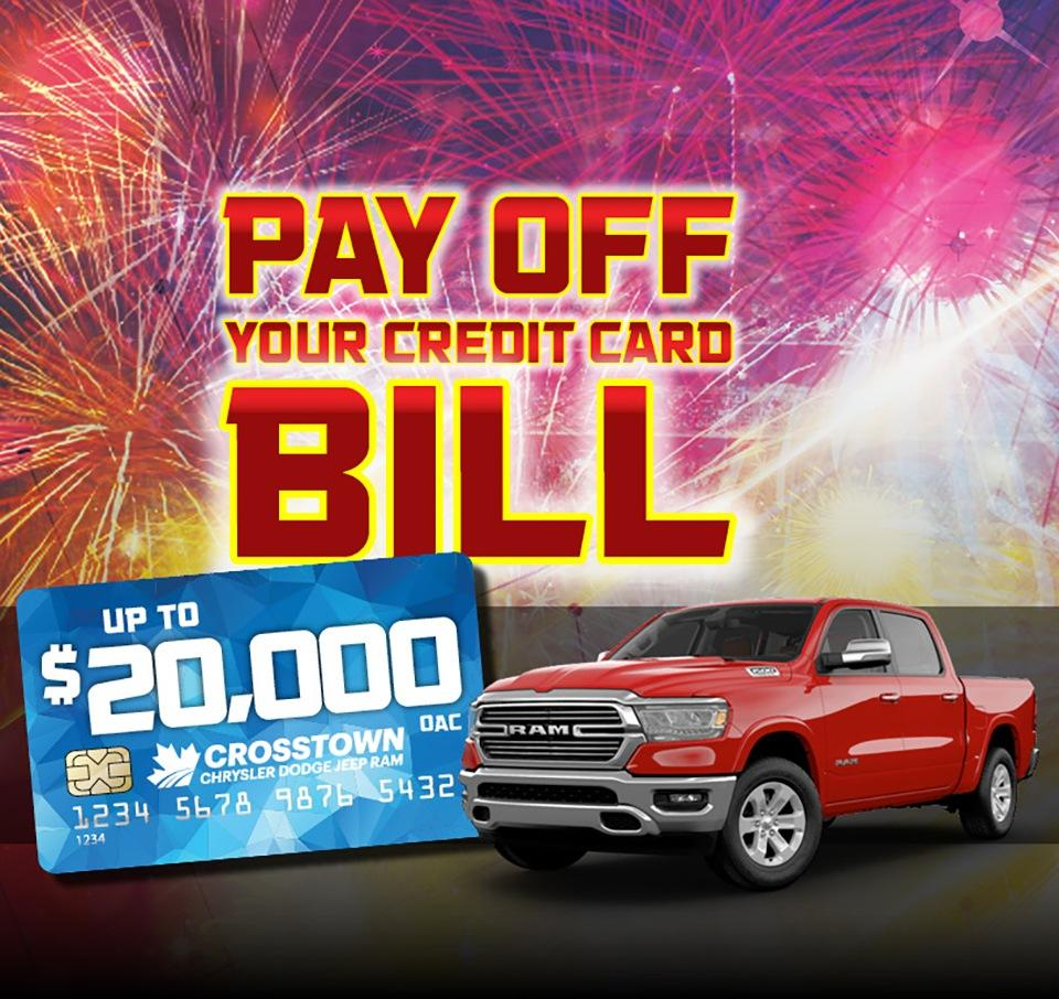 Pay Off Your Credit Card Bill