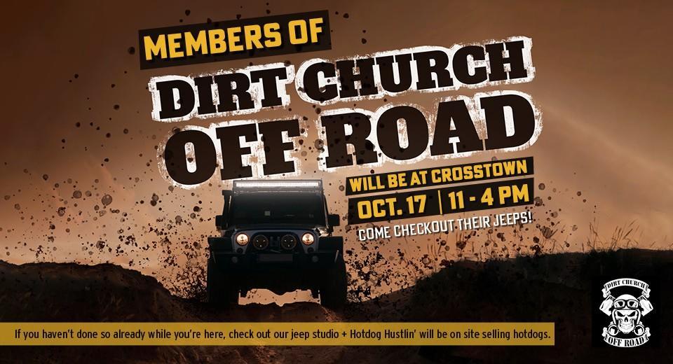 Dirt Church Evenet Banner mobile