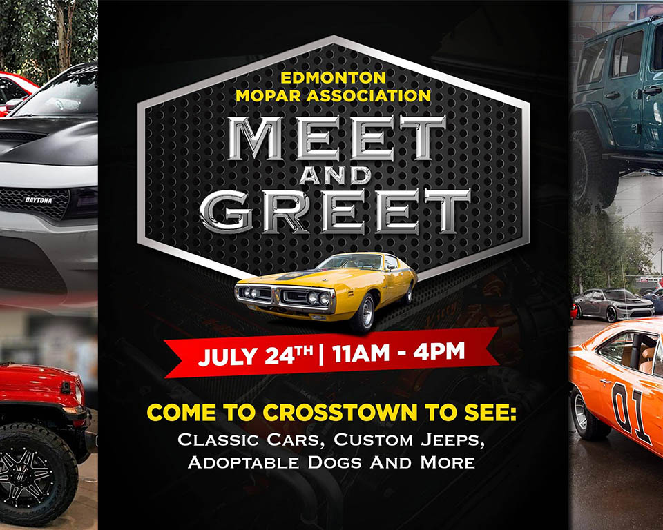 Meet and Greet - July 24th, 2021 11AM - 4PM
