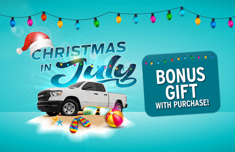 Christmas in July - Bonus Gift with Purchase