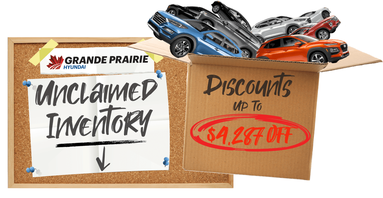 Unclaimed Inventory Clearout Grande Prairie Hyundai in 11418 - Westgate Dr.