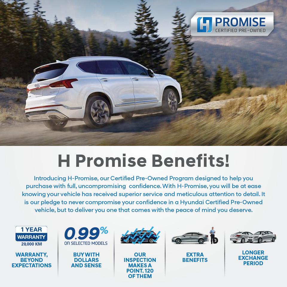 Certified Pre-Owned Program @ Grande Prairie Hyundai