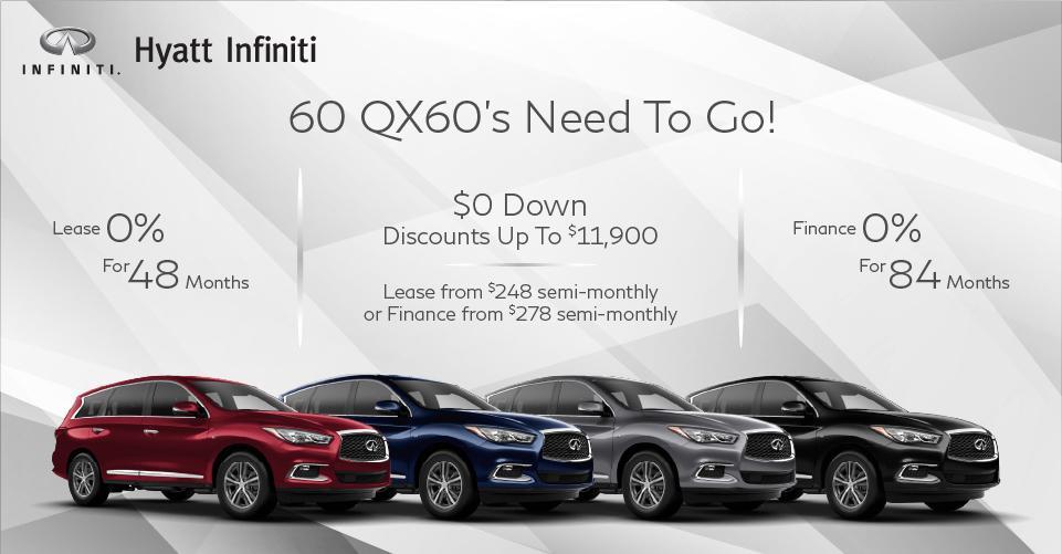 60 QX60s