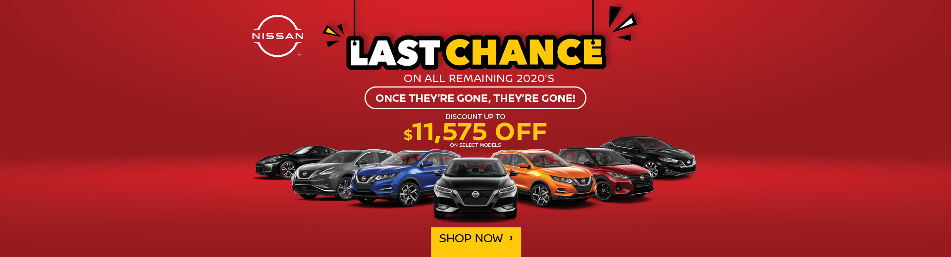 Last Chance on All Remaining 2020's at Fish Creek Nissan