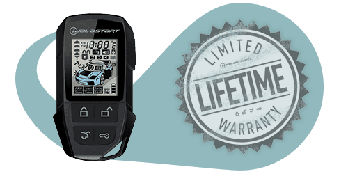 Remote Starter and limited lifetime warranty