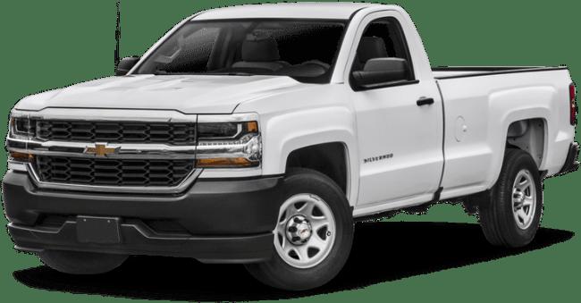 White chevy truck