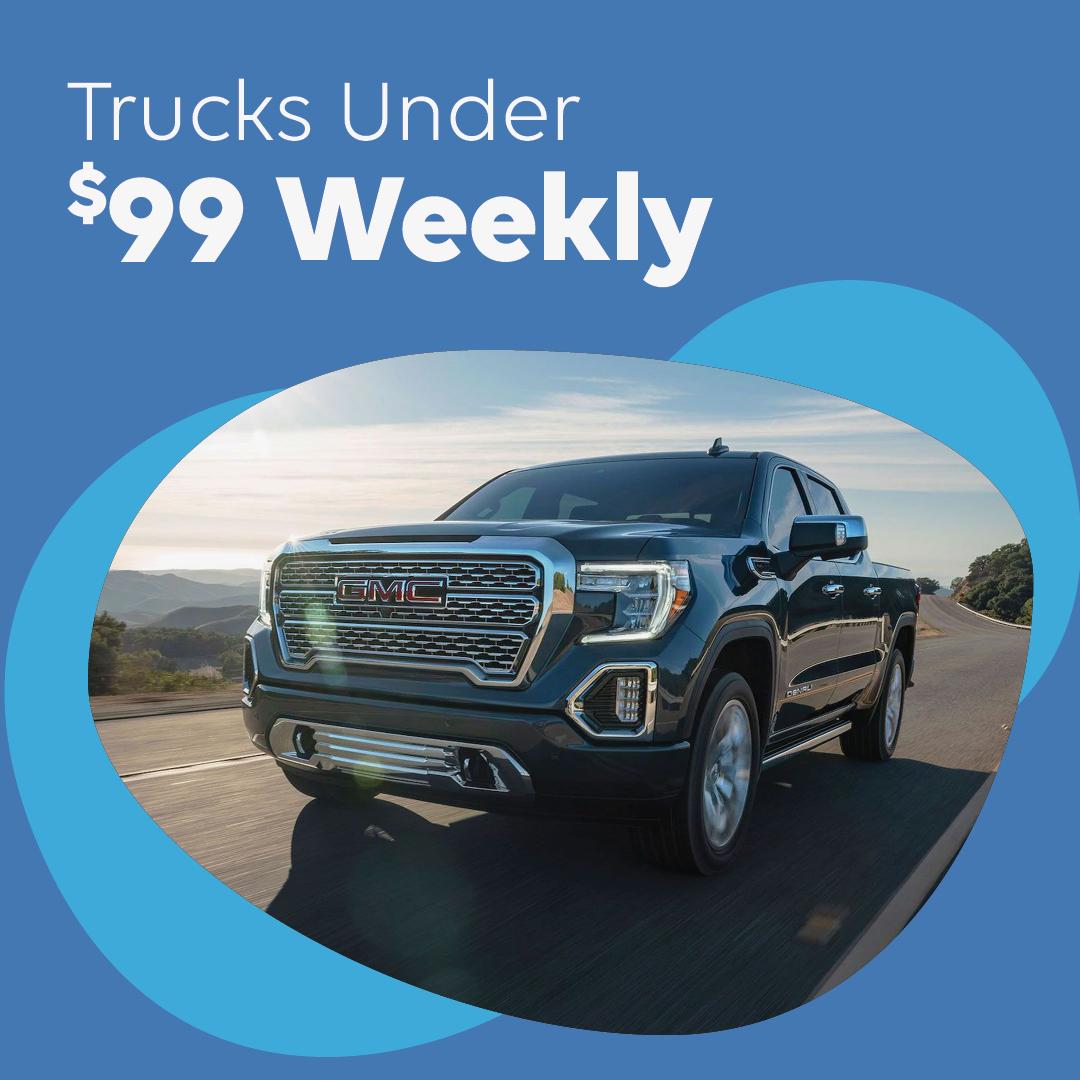 Trucks Under 99 Weekly