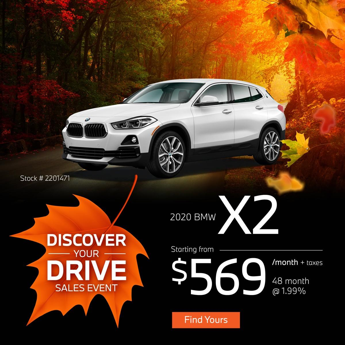 Discover Your Drive Sales Event